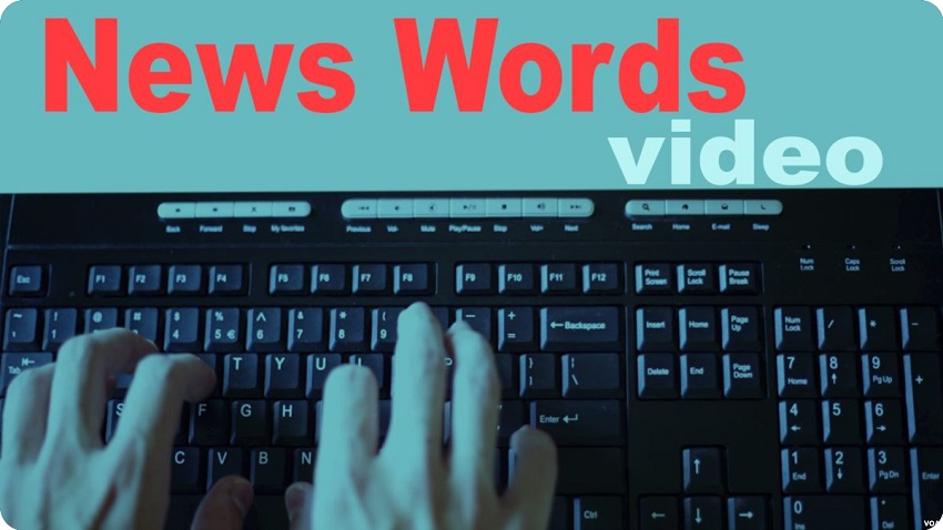 News Words (VOA)