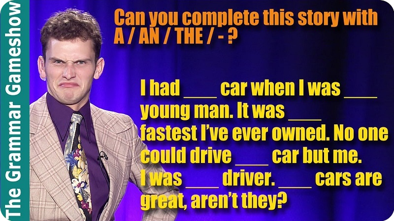 مجموعه The Grammar Gameshow